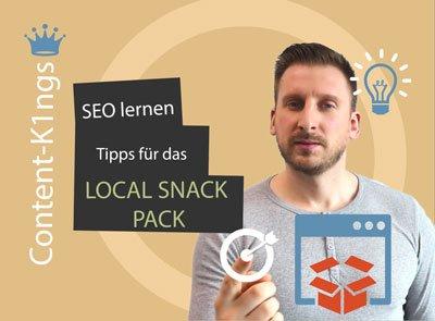 tipps für local snack pack